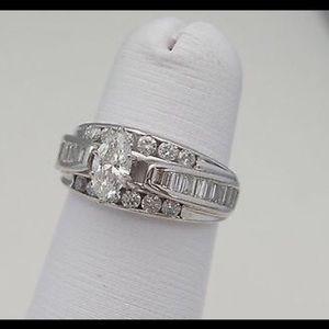 Jewelry - 1.5 Ct. T.W. Diamond Engagement Ring
